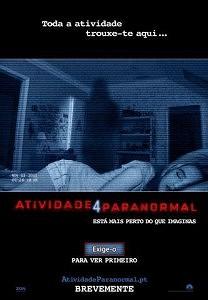 Atividade Paranormal 5 ganha data de estreia nos EUA.