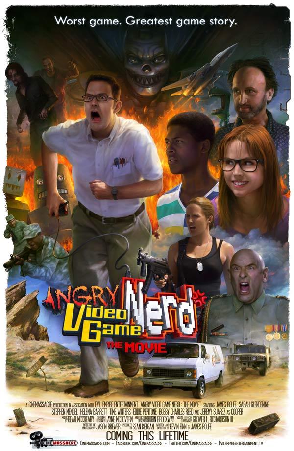 Angry Video Game Nerd The Movie Legendado