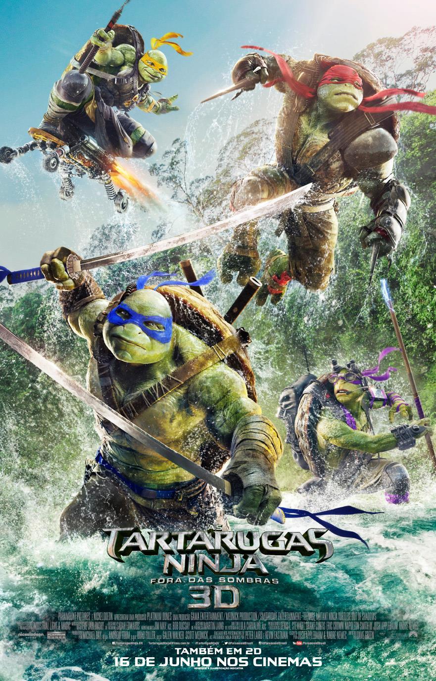 Assistir As Tartarugas Ninja: Fora das Sombras