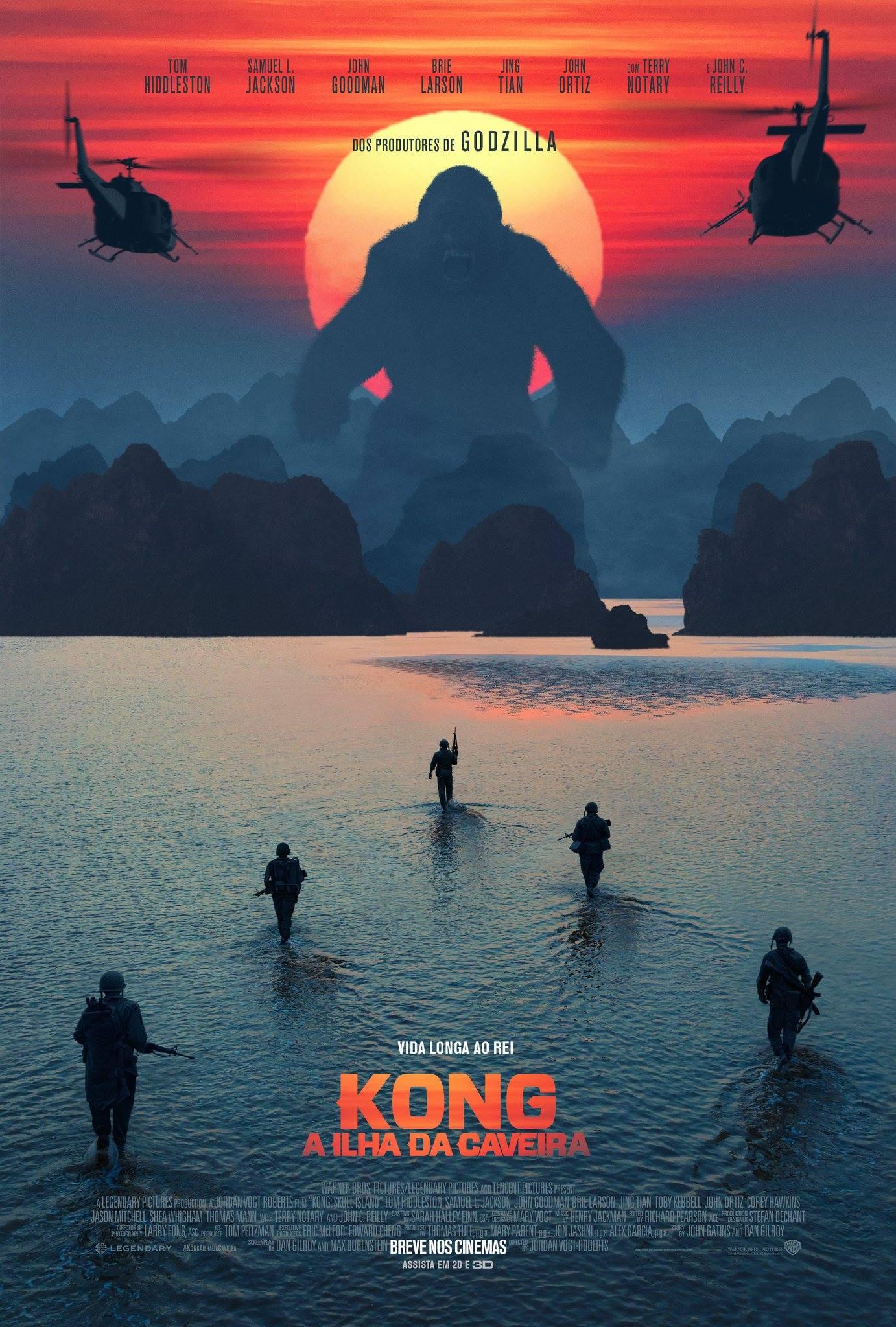 Assistir Kong : A Ilha da Caveira