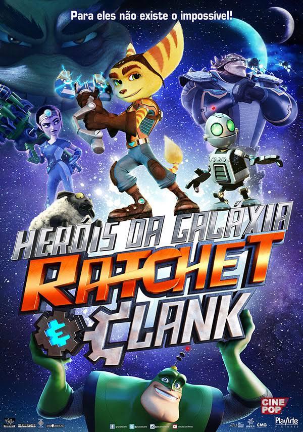 Assistir Heróis da Galáxia Ratchet e Clank