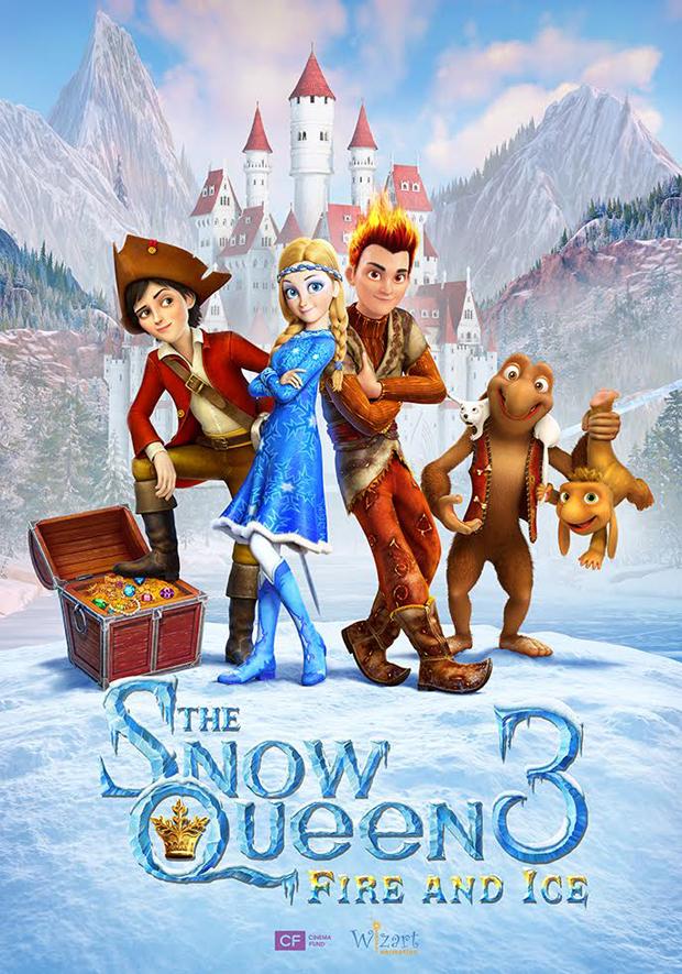 Assistir O Reino Gelado 3 - Fogo e Gelo