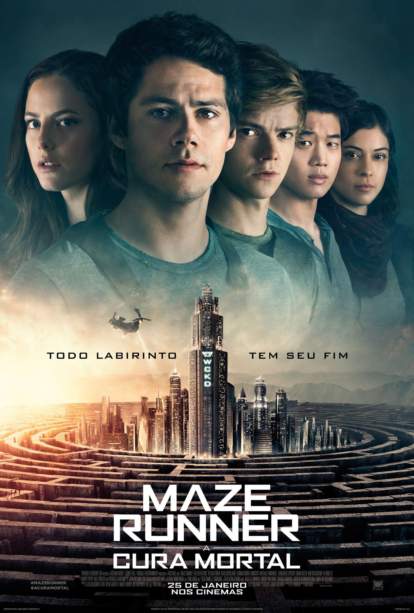 Assistir Maze Runner: A Cura Mortal