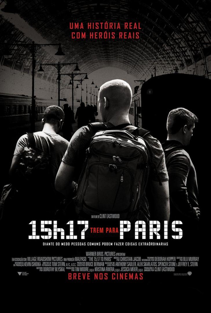 Assistir 15h17 - Trem para Paris