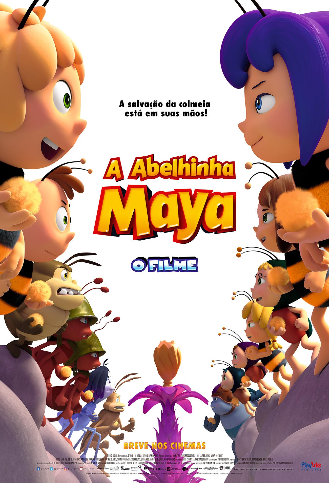 Assistir A Abelhinha Maya: O Filme