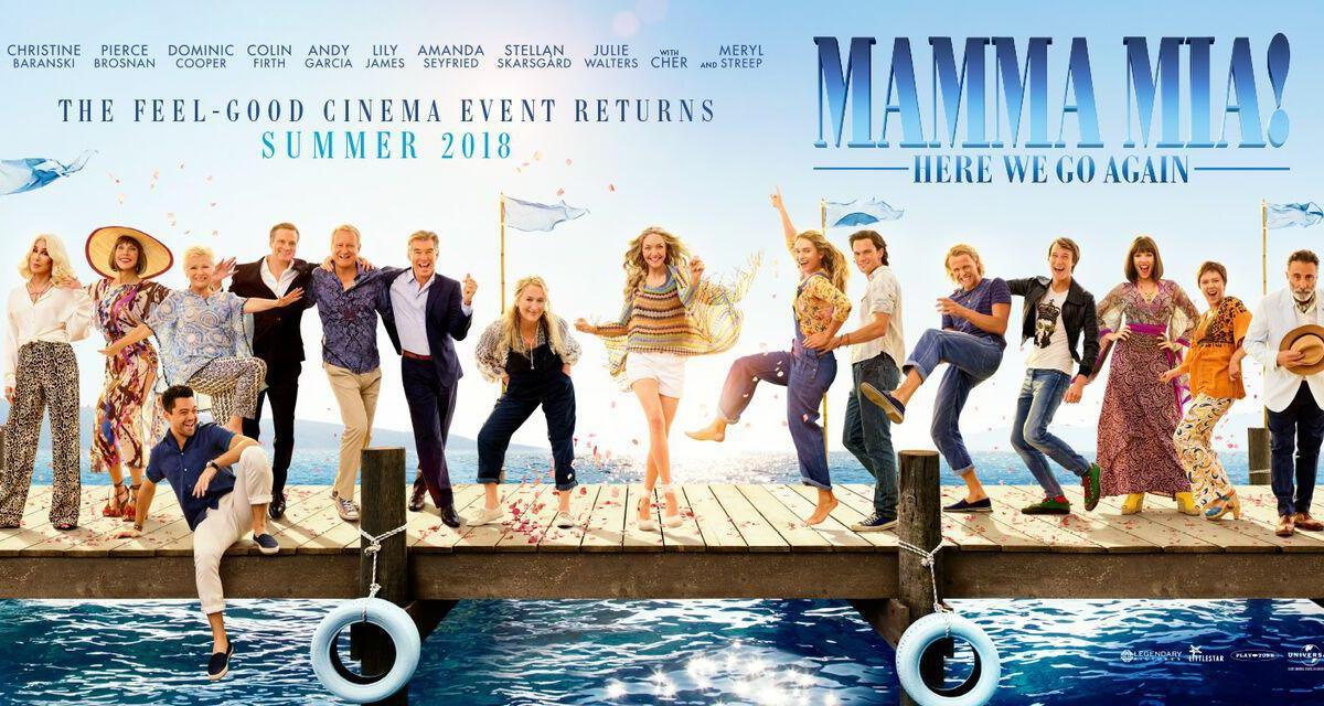 Resultado de imagem para mamma mia here we go again Poster
