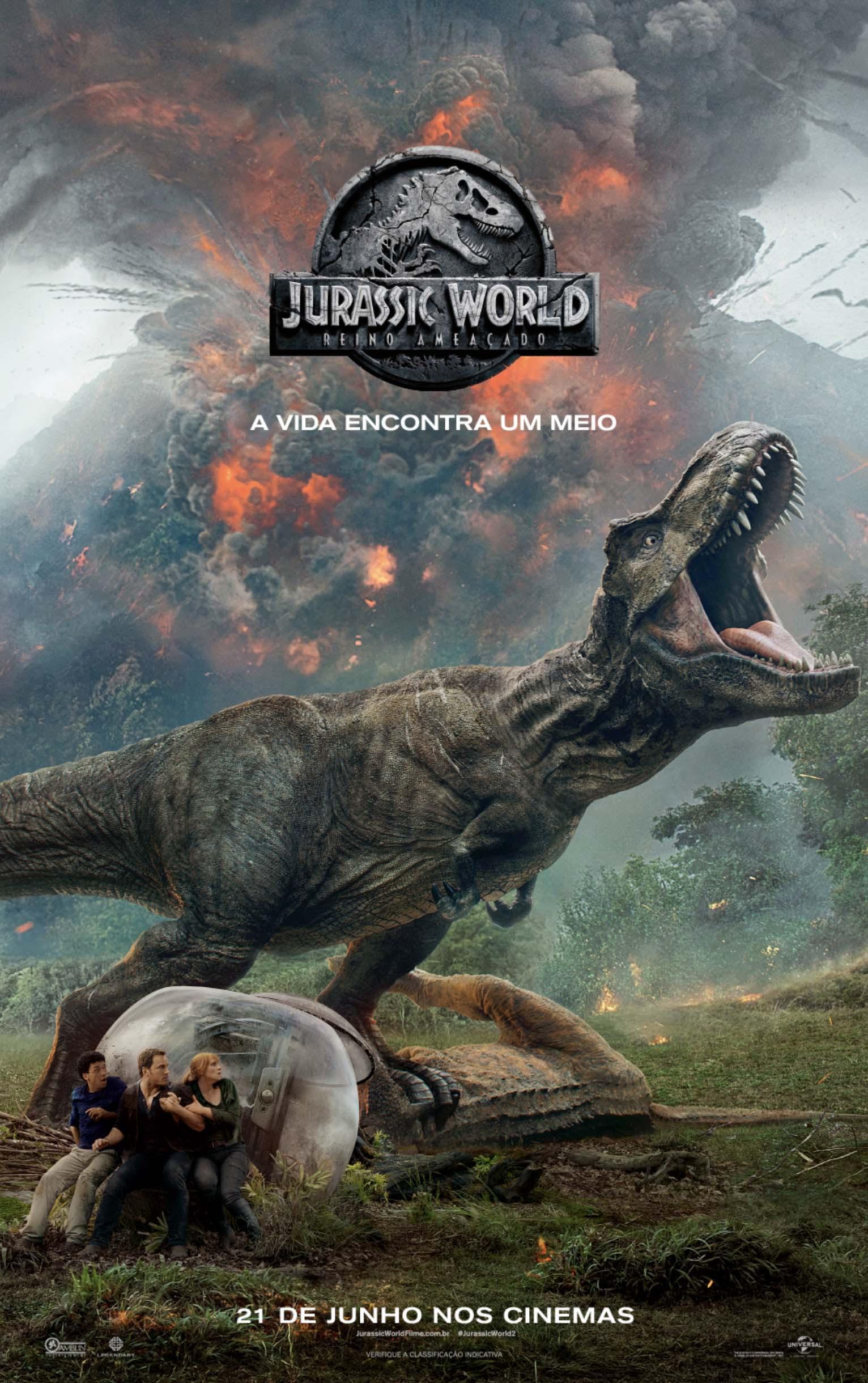 Assistir Jurassic World: Reino Ameaçado