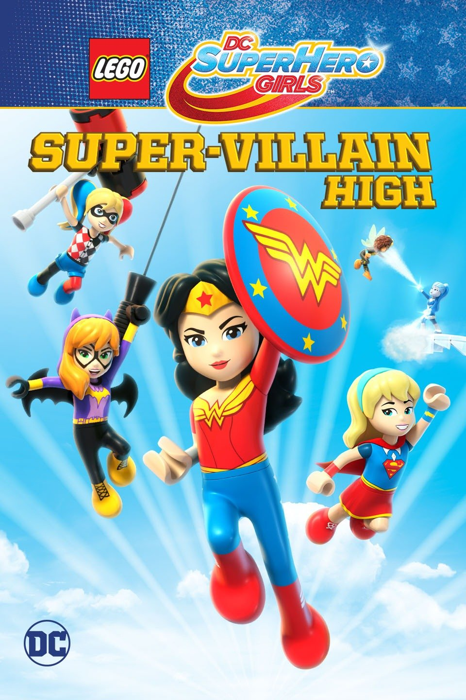 Assistir Lego DC Super Hero Girls: Escola de Super Vilãs