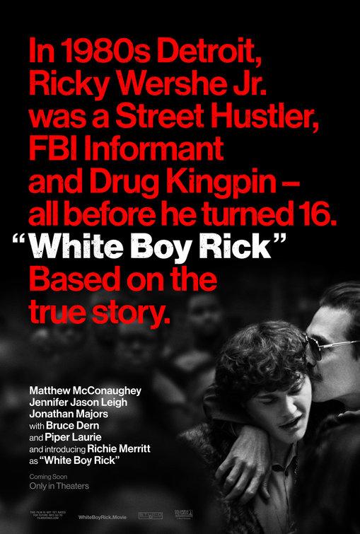 Resultado de imagem para white boy rick cartaz