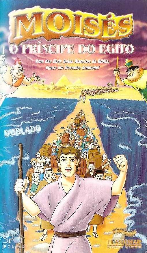 Colecao Biblia Para Criancas Moises O Principe Do Egito 1998