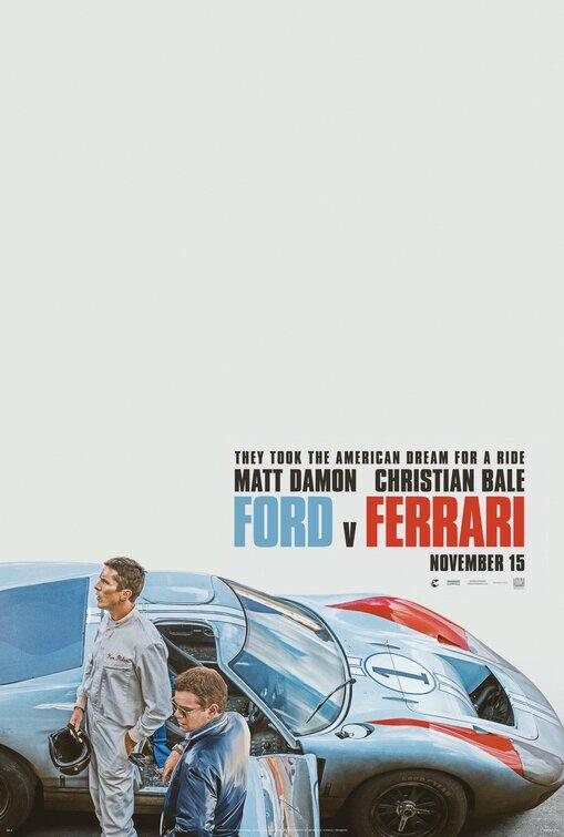 Ford vs Ferrari - Legendado Full HD Torrent (2019) 5.1 DVDRip 1080p