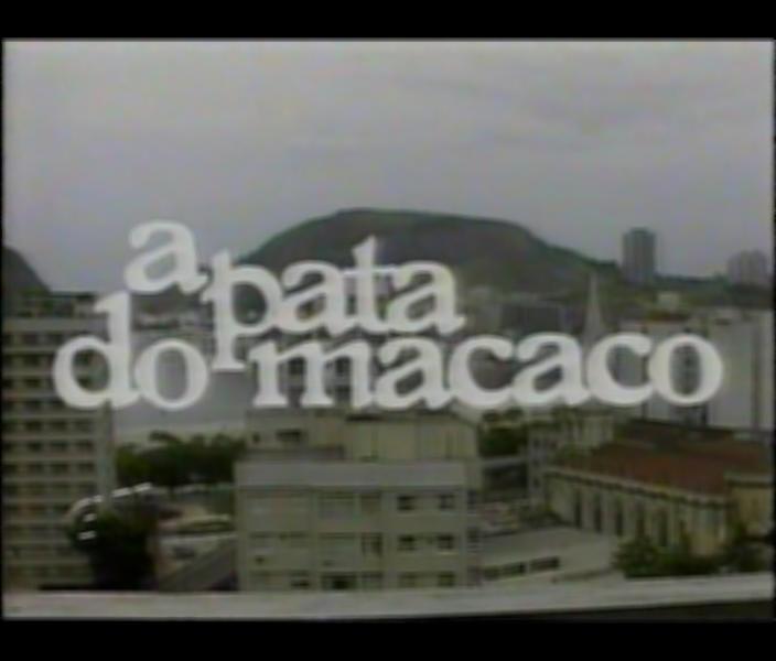 Resultado de imagem para a pata do macaco 1983