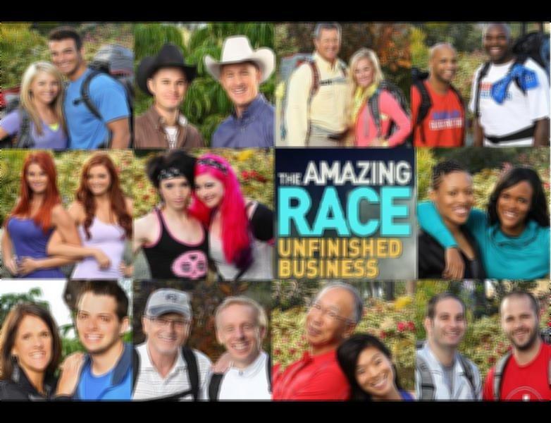 amazing race unfinished business