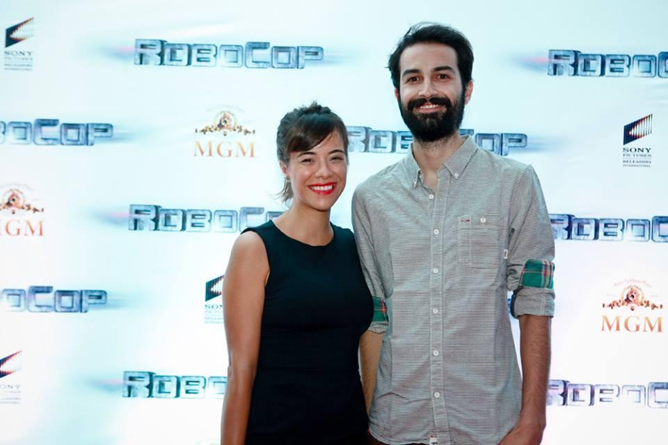 Robocop Pre-estreia Rio Mia Mello