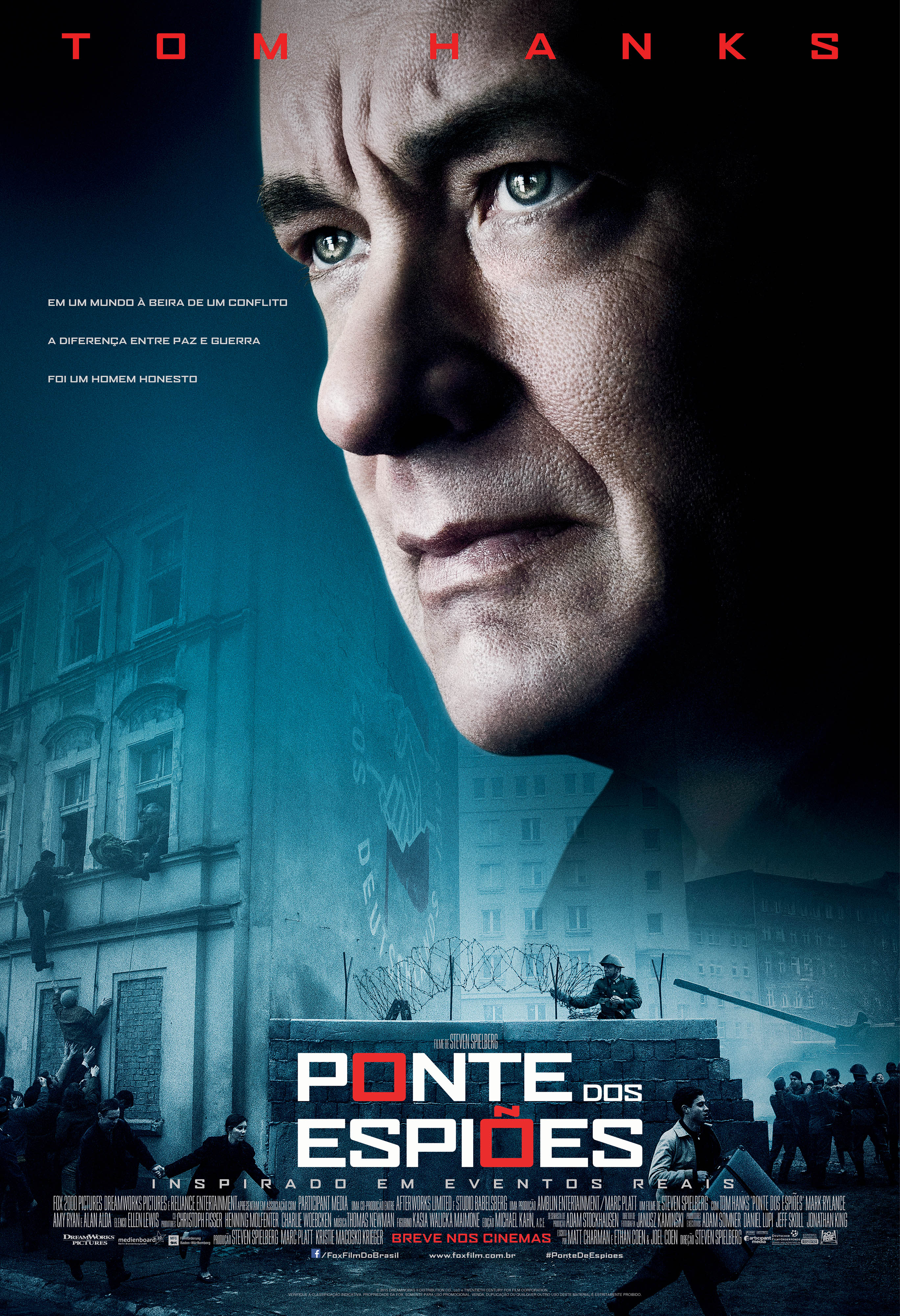 Ponte dos Espiões (2016) BRRip Blu-Ray 720p/1080p 5.1 CH Dublado Torrent